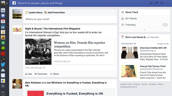 Facebook unveil its New Right-Hand Column Ads