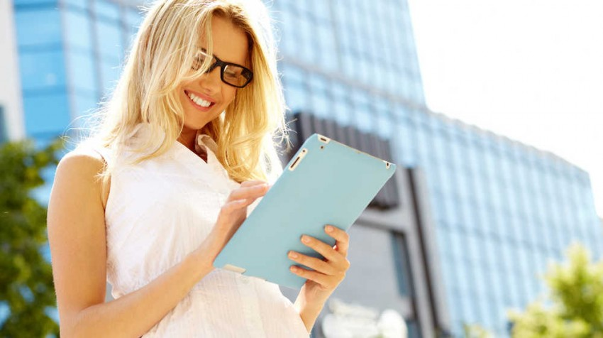 Mobile business tablet