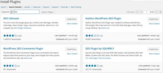 Wordpress 4.0 Install New Plugin