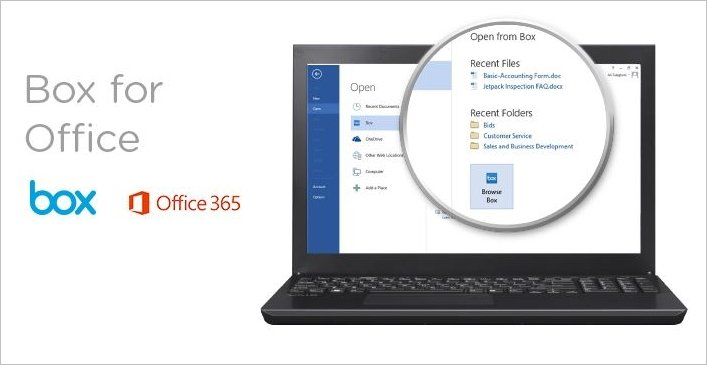 box for office 365