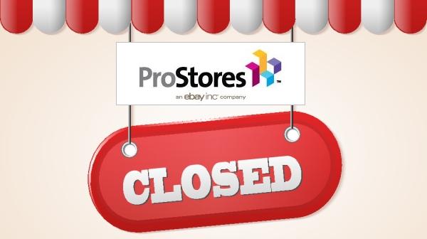ebay prostores closed