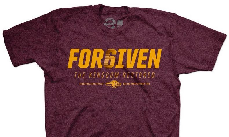 LeBron T-shirt - capitalizing on trends