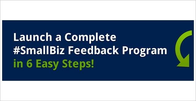 Webinar: 6 Steps to a Complete Customer Feedback Program