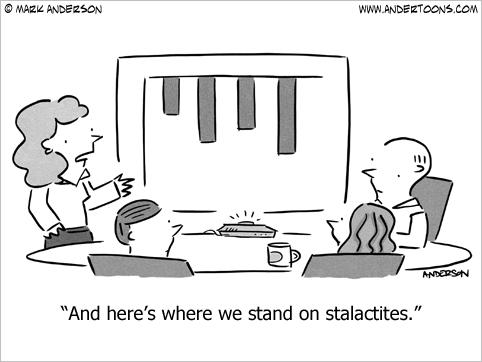 stalactities cartoon