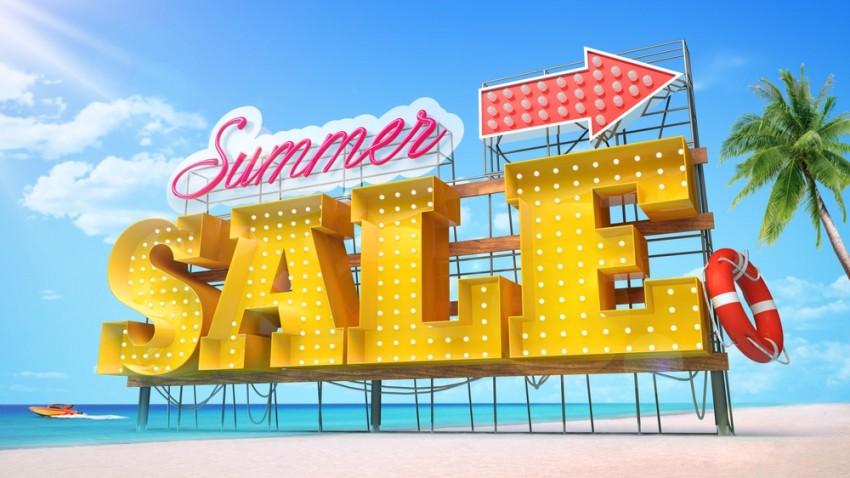 summer retail sale ideas