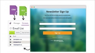 verticalresponse custom hosted sign up pages