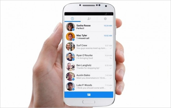 Permissions for the Facebook Messenger App