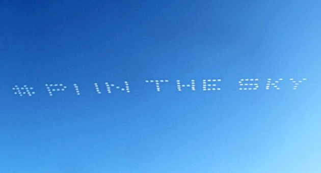 skywriting advertising