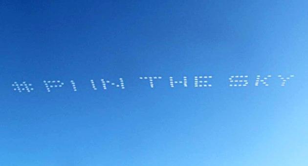 skywriting advertising