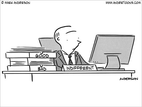 indifferent cartoon