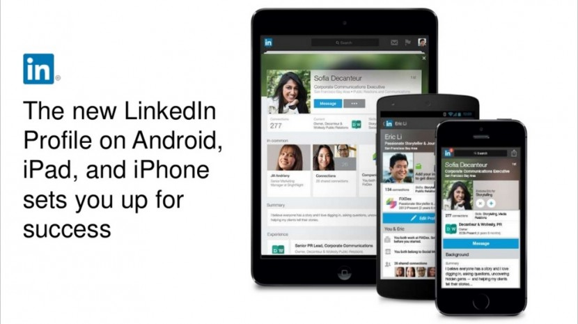 New LinkedIn Mobile Profiles