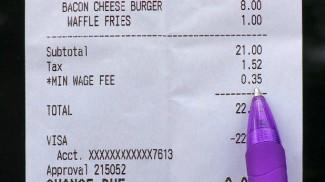 minimum wage fee
