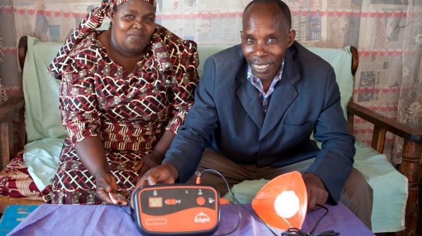 solar lighting in africa