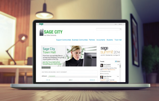 Sage City website small business