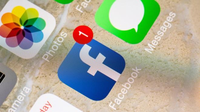 Facebook alert