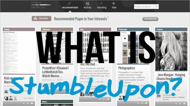 what is stumbleupon 3