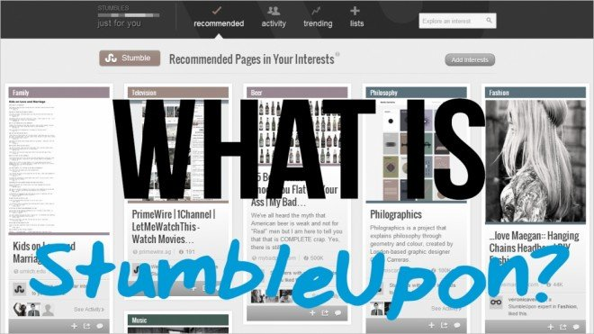 what is stumbleupon