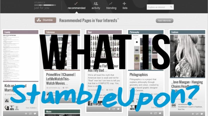 what is stumbleupon