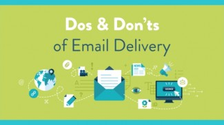 email delivery infographic