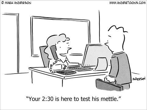 test your mettle cartoon