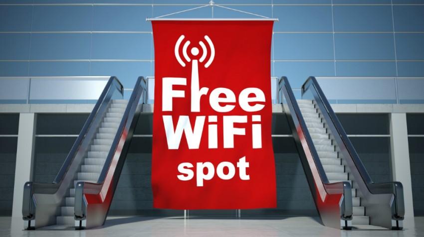 free WiFi in greece