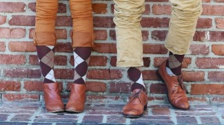 Argyle-Chestnut-RejuvaSocks