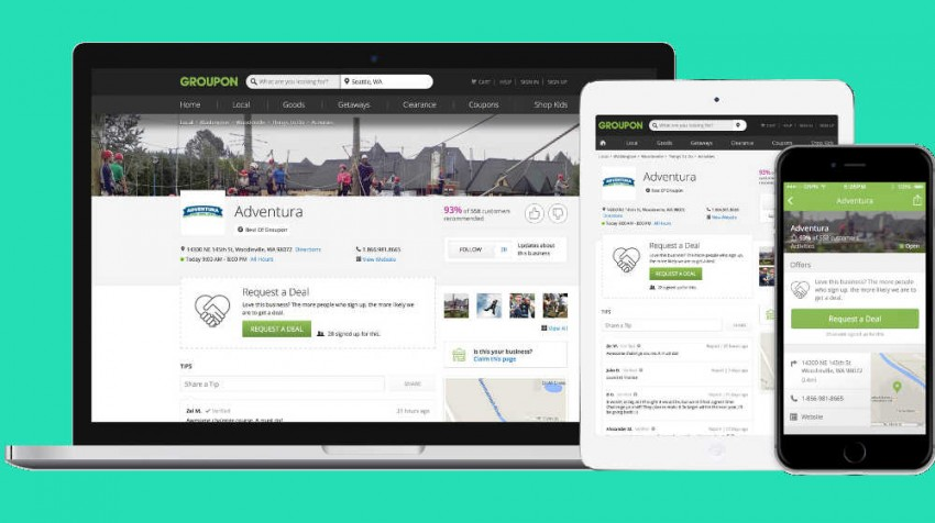 groupon pages
