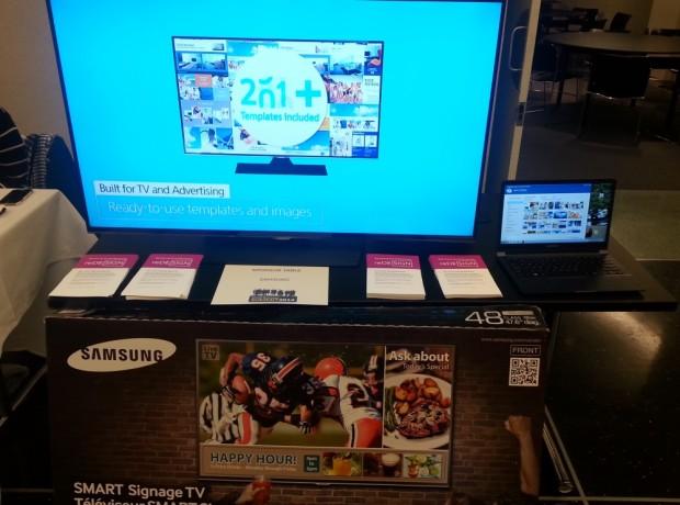 digital signage tv system in a box
