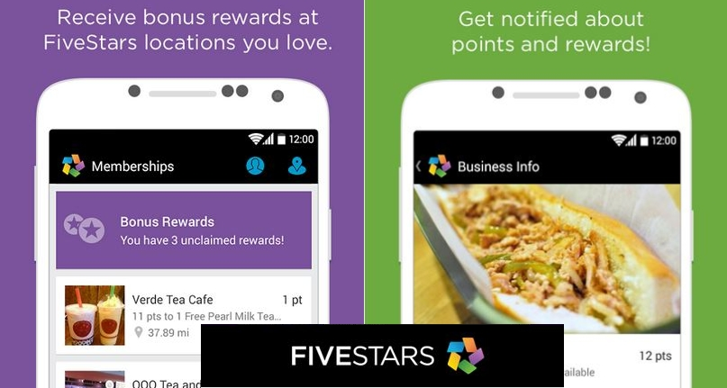 Fivestars app track customer loyalty without punch card small fivestars app for years businesses have been using punch cards colourmoves