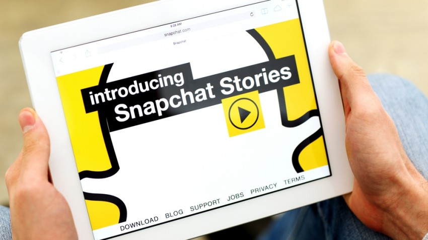 how businesses can use snapchat
