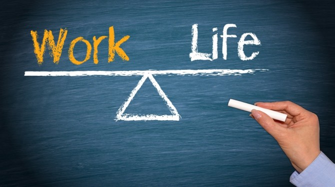 perfect work-life balance