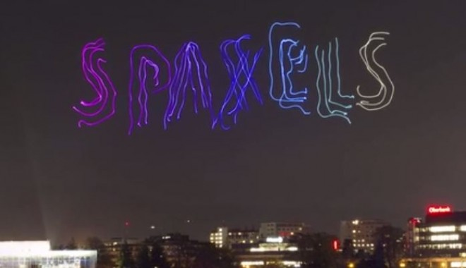 spaxels drones