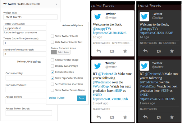 free twitter plugins for wordpress