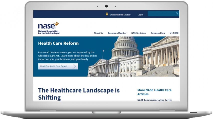NASE Healthcare Reform portal