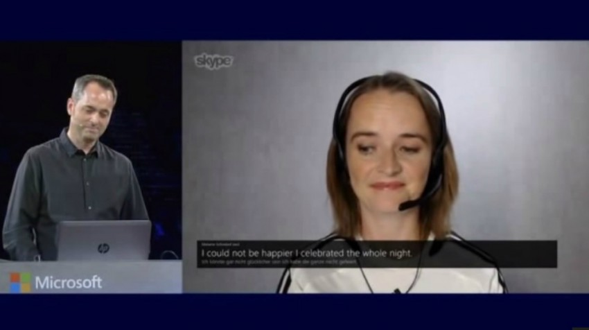 Skype Translator app