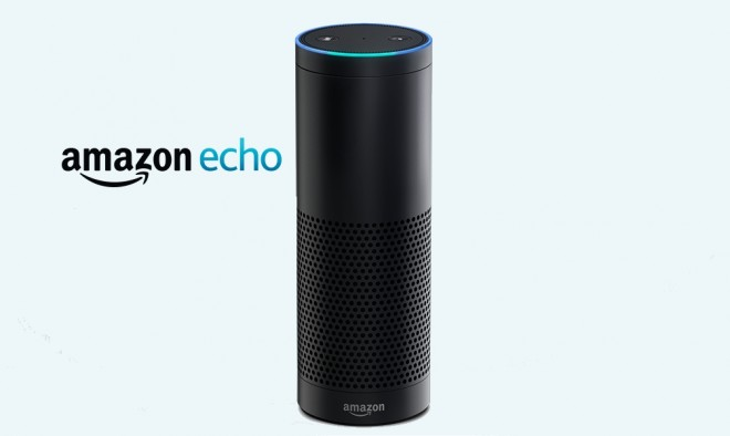 Amazon Echo voice activated assistant