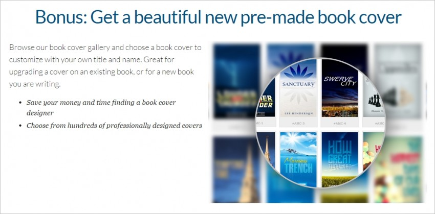 Author Marketing Club review - premade book covers