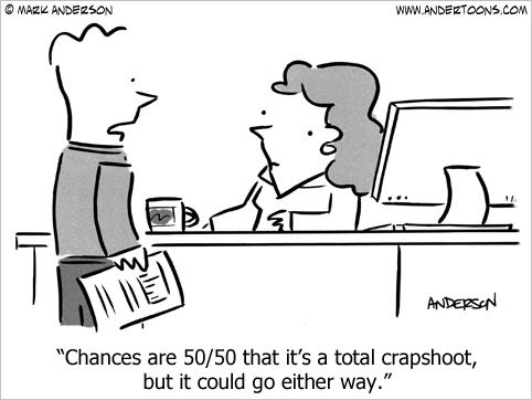 crap shoot cartoon