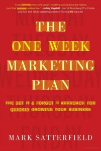 one week marketing plan