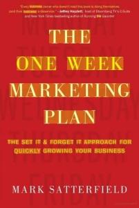 one week marketing plan