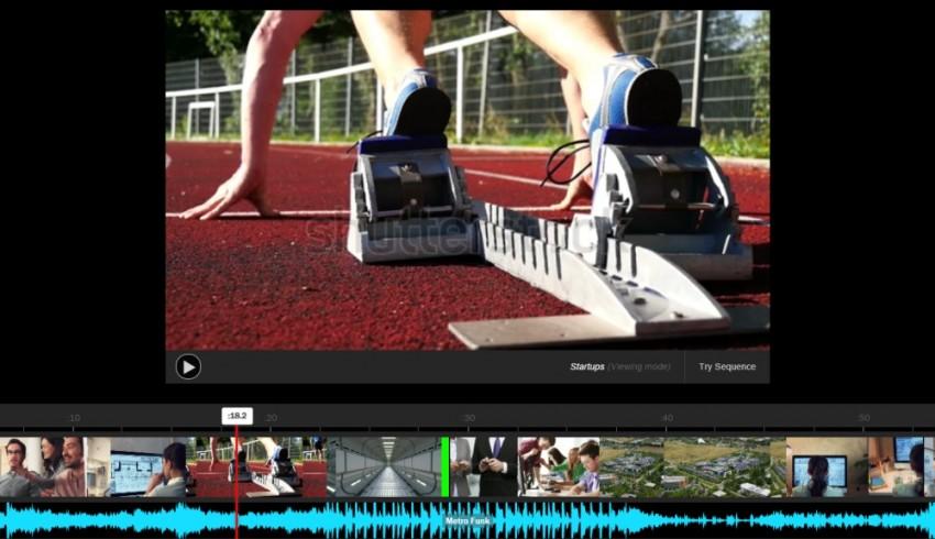 Shutterstock video editing tool