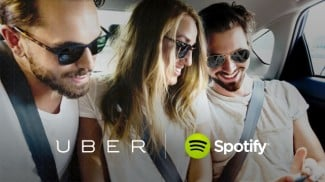 uber and spotify