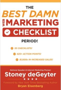 online marketing checklist book by Stoney deGeyter