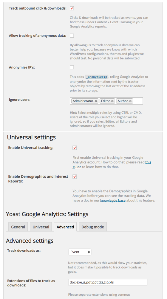 wordpress plugins for google