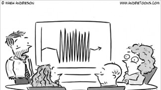 frazzled work week cartoon