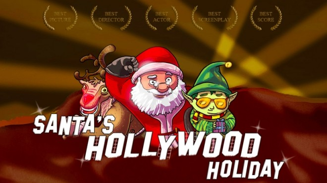 santa in hollywood