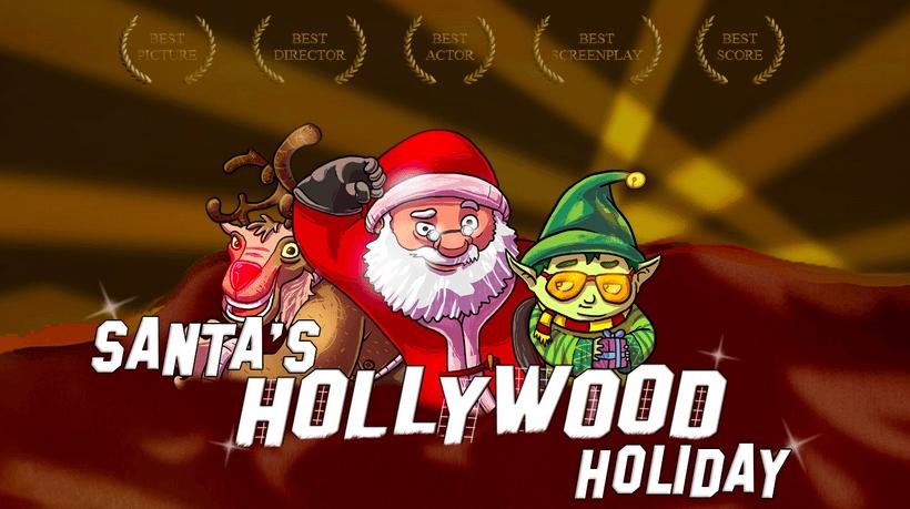 santa in hollywood