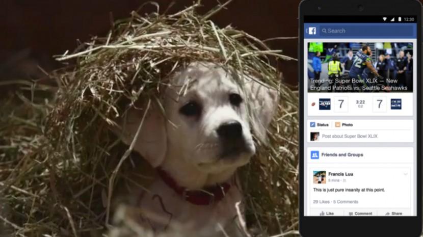 facebook super bowl ads