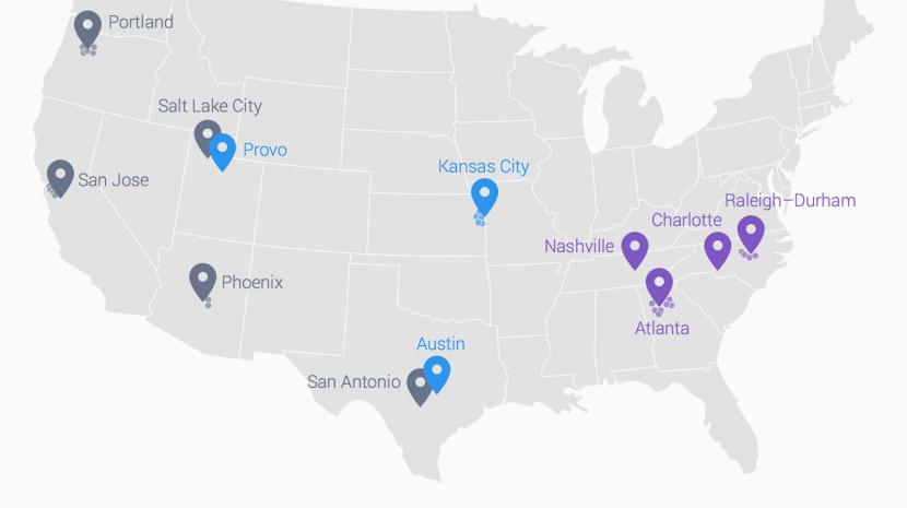 google fiber locations