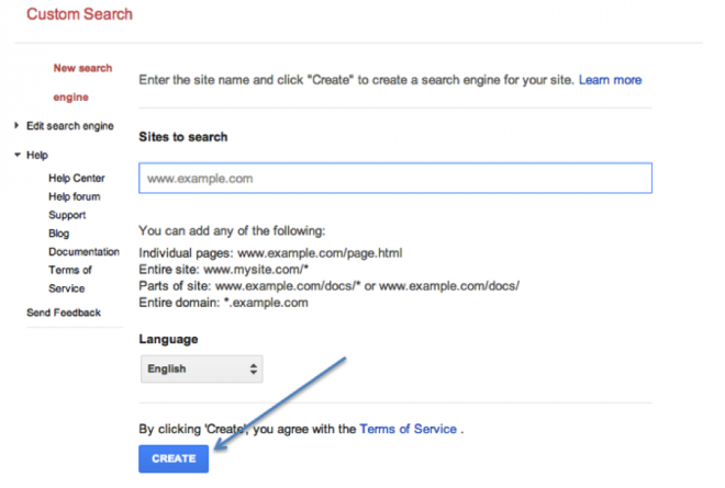 Google Custom Search 1